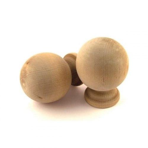 Ручка-кнопка банная шар 1-0754