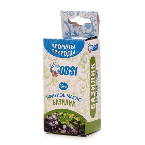 Эфирное масло «Базилик» 15мл OBSI БМ089