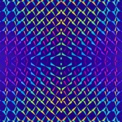 Пленка самоклеящаяся гологорамма SOLLER 0,45*8м М039D синяя