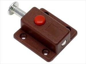 Шпингалет автоматический коричневый