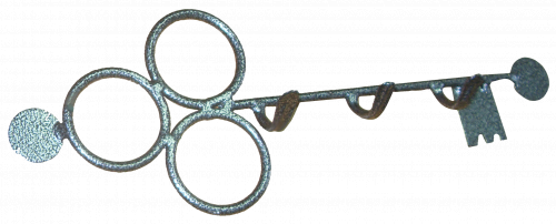 Ключница кованая ЗСИ № 1