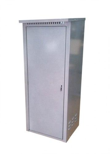 Шкаф д/газовых баллонов (на 1 баллон 50л.), серый ЗСИ