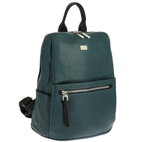 Рюкзак женский David Jones 6604-2 чёрный, зелёный, хаки