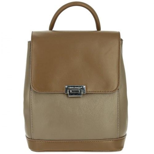 Рюкзак женский David Jones 6620-2 чёрный, серый, кофе