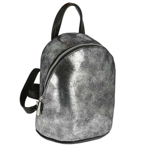 Рюкзак женский David Jones 6624-2 серебро, зелёный, золото