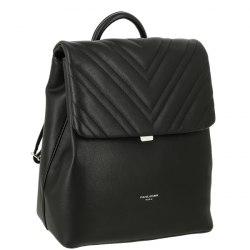 Рюкзак женский David Jones 6250-2 чёрный