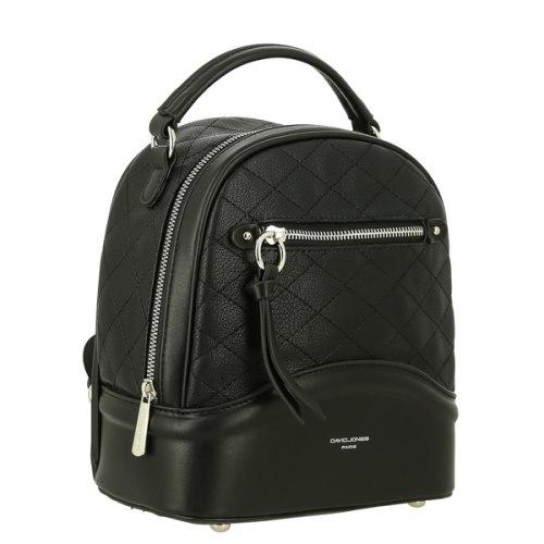 Рюкзак женский David Jones 6292-2 чёрный, жёлтый, зелёный