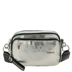 Сумка женская David Jones 6237-2 серебро