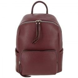 Рюкзак женский David Jones 5845 чёрный, бордовый