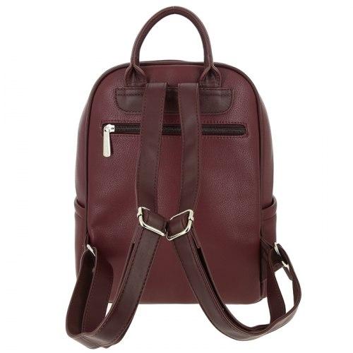 Рюкзак женский David Jones 5845 бордовый