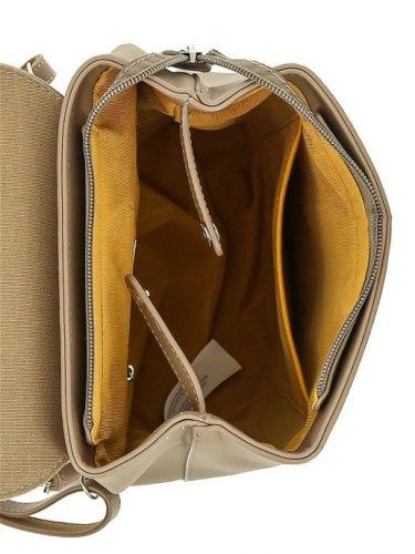 Рюкзак женский David Jones 6211-3 бежевый
