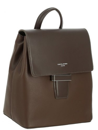 Рюкзак женский David Jones 6211-3 чёрный, коричневый