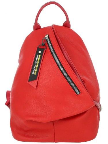 Рюкзак женский David Jones 8866 красный бежевый