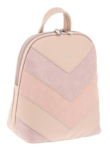 Рюкзак женский David Jones 6203-2 розовый