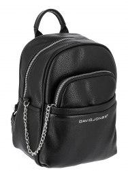 Рюкзак женский David Jones 6529-4 чёрный