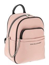 Рюкзак женский David Jones 6529-4 розовый