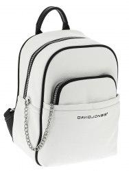 Рюкзак женский David Jones 6529-4 белый