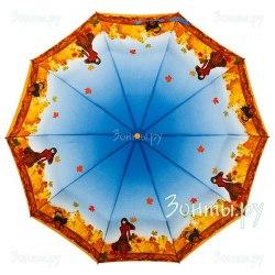 Зонт женский автомат Zest 23966 Кошка на поводке