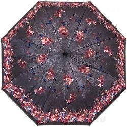 Зонт женский полуавтомат Три слона 883 (Цветы)