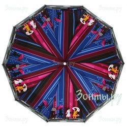 Зонт женский полуавтомат Zest 53616 Люди