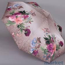 Зонт женский автомат Trust 31476 Бабочки