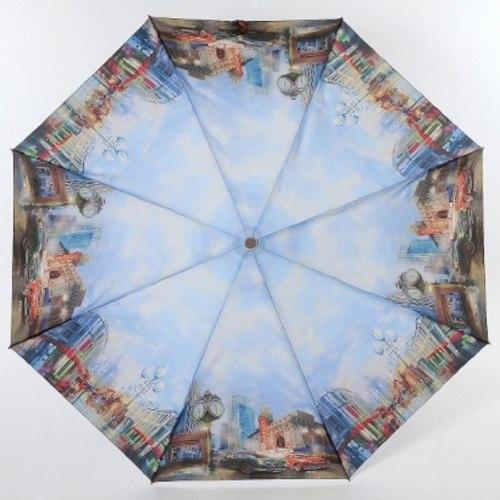 Зонт женский автомат Lamberti 73945 Часы