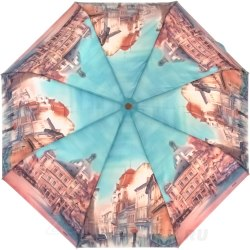Зонт женский автомат Lamberti 73945 Бирюзовый