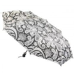 Зонт женский автомат Zest 23849 Белые узоры