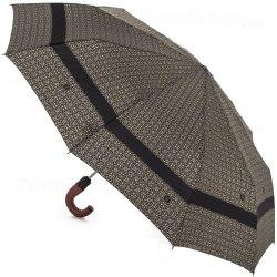 Зонт мужской полуавтомат Zest 43662 Светлый