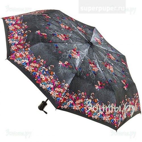 Зонт женский автоматический Три слона 884 мелкие цветы
