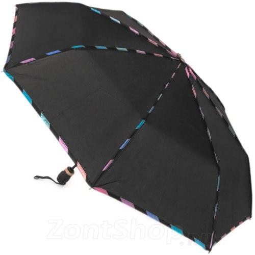 Зонт женский автоматический Три слона 107 Чёрный