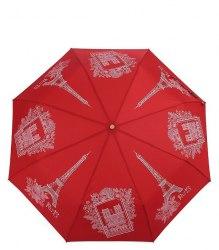 Зонт женский автоматический Три слона 197 Красный