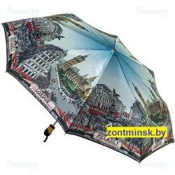 Зонт женский автоматический Три слона 133 Лондон