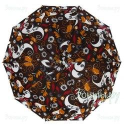 Зонт женский полуавтомат Zest 53616 Узоры