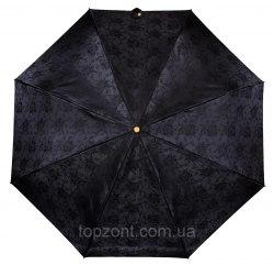 Зонт женский автоматический Три слона 120 Чёрный