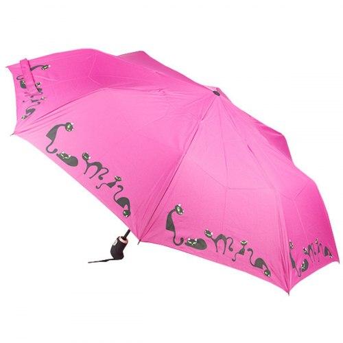 Зонт женский автоматический Zest 23849 коты