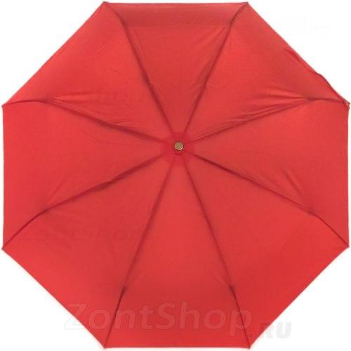 Зонт полу автоматический Три слона 886 красный