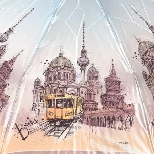 Зонт женский автоматический Три слона 132 Берлин