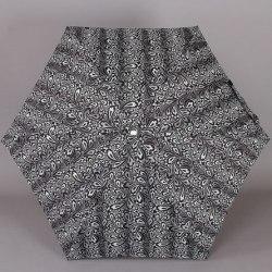 Зонт женский механический Zest 55526 Чёрно-белый