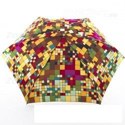 Зонт женский механический Zest 55526 Квадраты
