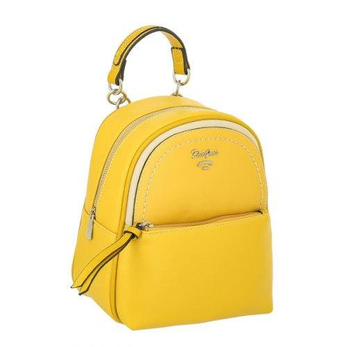 Рюкзак женский David Jones 6204 Жёлтый
