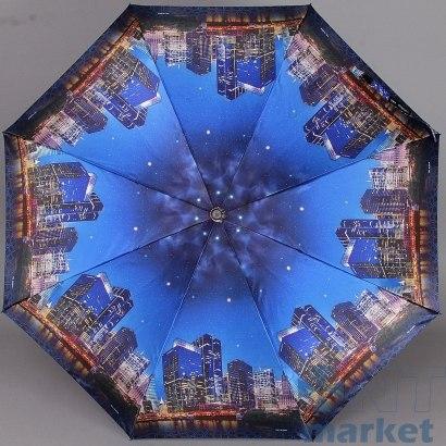 Зонт женский полуавтомат Три слона 882 Ночной город