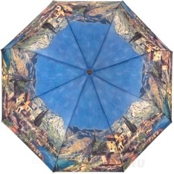 Зонт женский автомат Lamberti 73745 Голубой