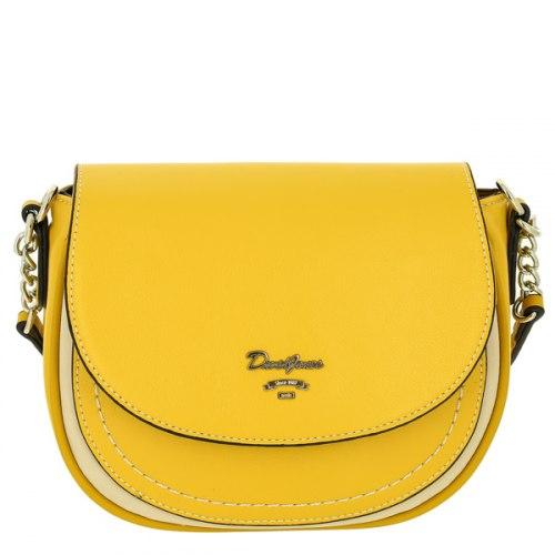Сумка женская David Jones 6204-2 жёлтая