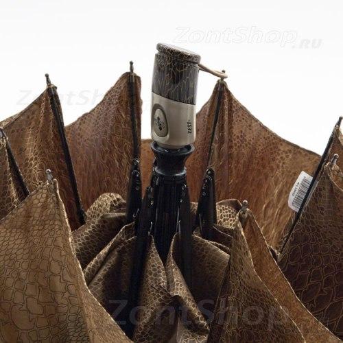 Зонт женский автомат Zest 23843 змеиный принт