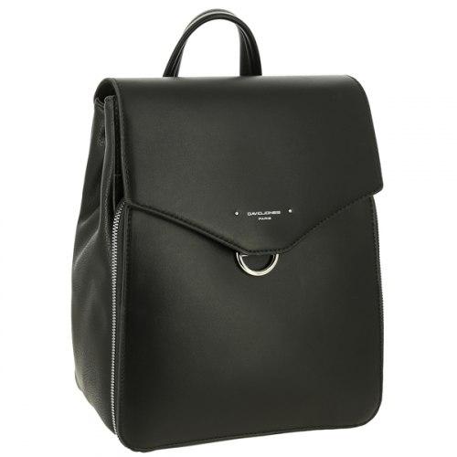 Рюкзак женский David Jones 6424-2 Чёрный