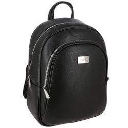 Рюкзак женский David Jones 5817 чёрный, бирюзовый