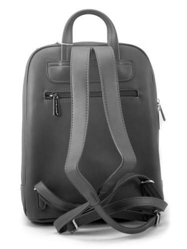 Рюкзак женский David Jones 5842 чёрный , бирюзовый