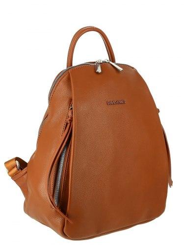 Рюкзак женский David Jones 5848 рыжий, красный, бирюзовый