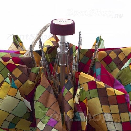 Зонт женский Zest 55526 Кубики